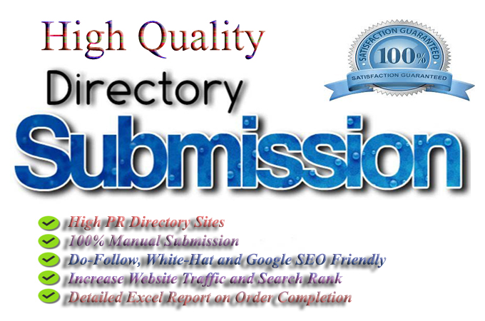 Manually I Will Give You 50 Directory Submission