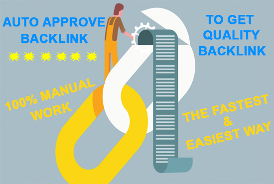 Add 20 auto approve niche related backlink in your website
