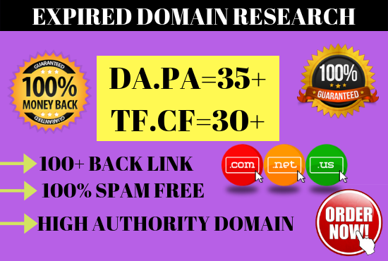 I Research High Matrics Expired Domain for you