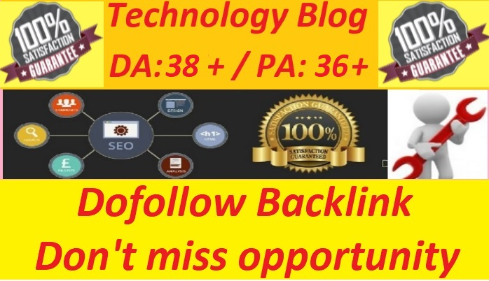 Write and guest post on Tech blog with dofollow link