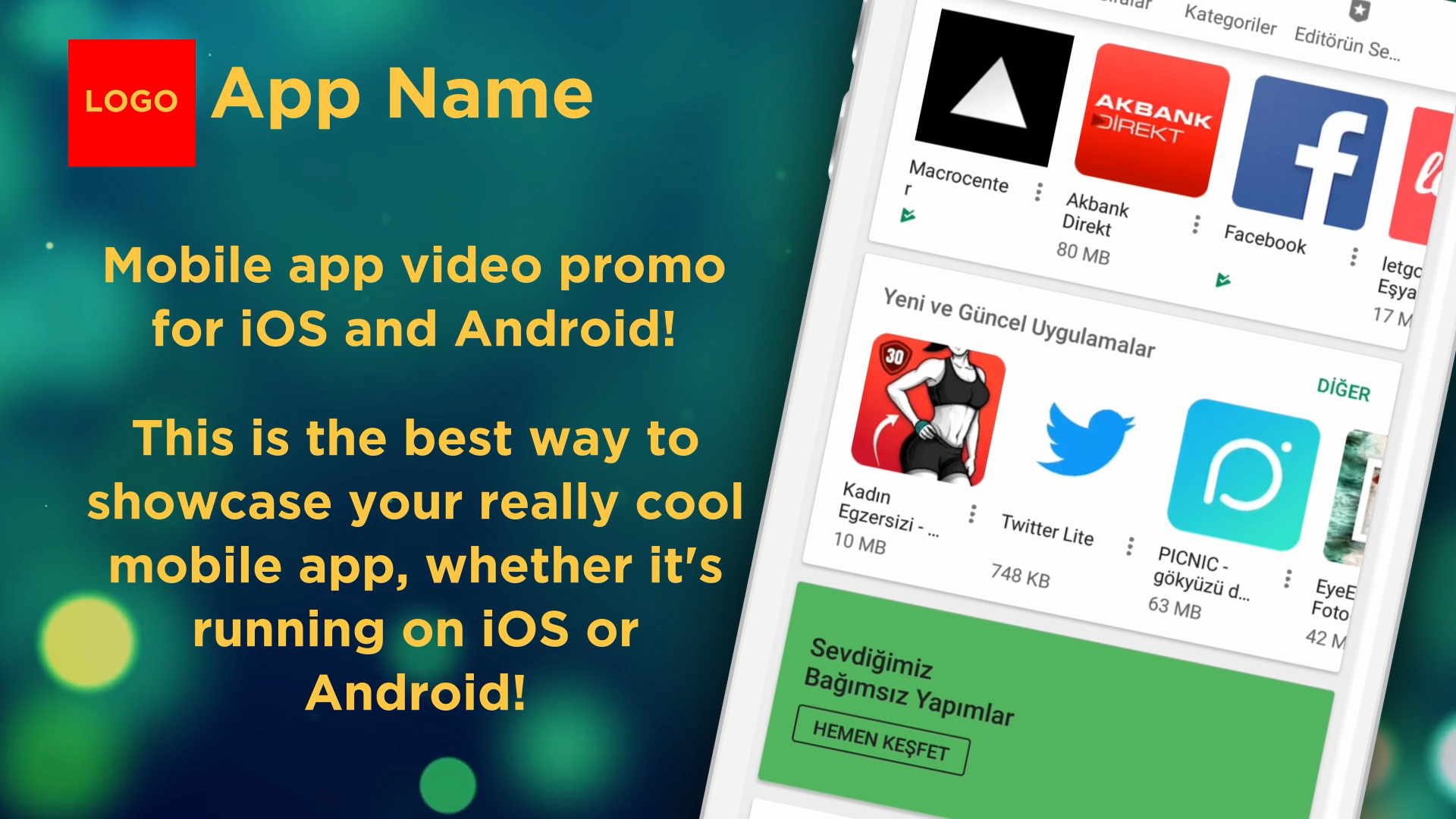 Create A Mobile Apps Promo Video For Ios Or Android