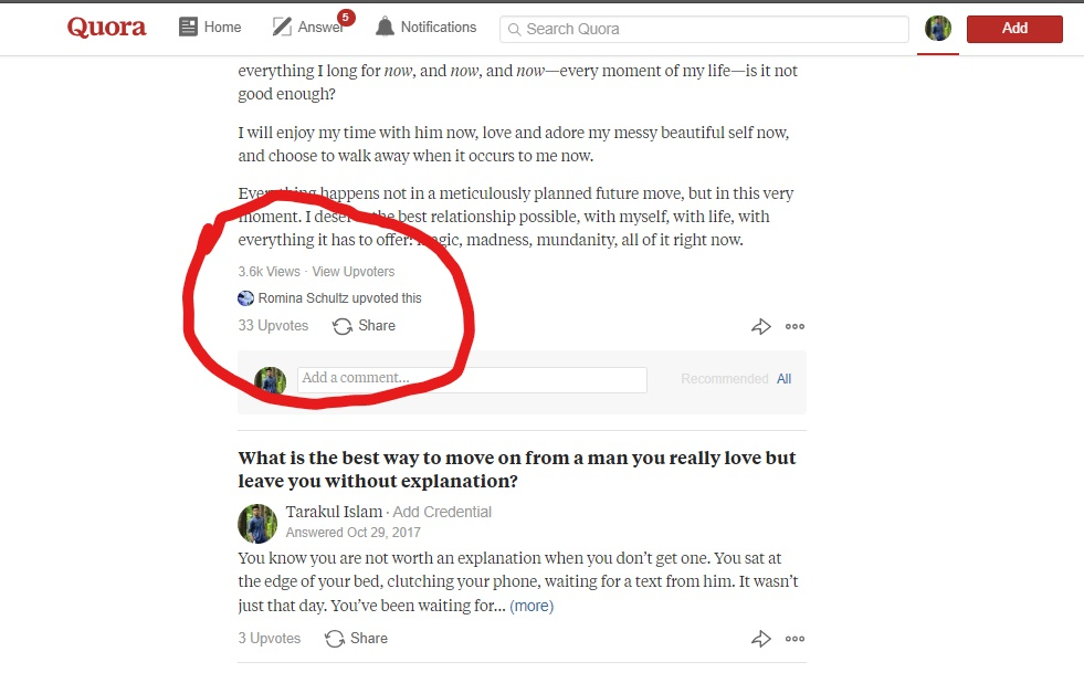 30 HQ worldwide QUORA upvote Contextual Link