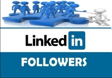 Buy 500+ Real & Active LinkedIn Followers for LinkedIn Company & Profile Account or All Social Media Service offer here