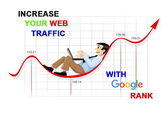 Make your site google rank with web traffic