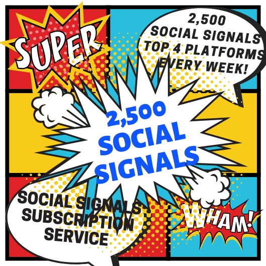 Set n' Forget 2500+ Drip Fed Social Signals Weekly Subscription Service - Builds Top Social Signals while you Sleep!