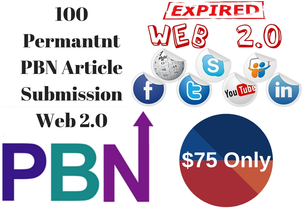 I Can Create 100 Pbn Article Submission On My Web 20 Blogs