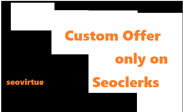 Custom Offer Only For Clients