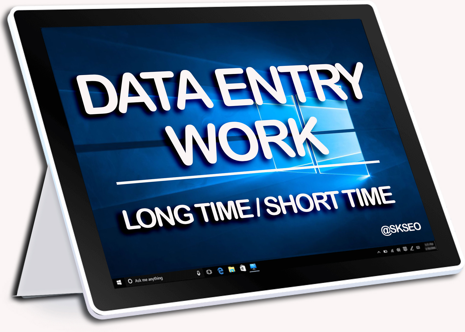 Provide 3-4 hour Data Entry work with 100 accuracy