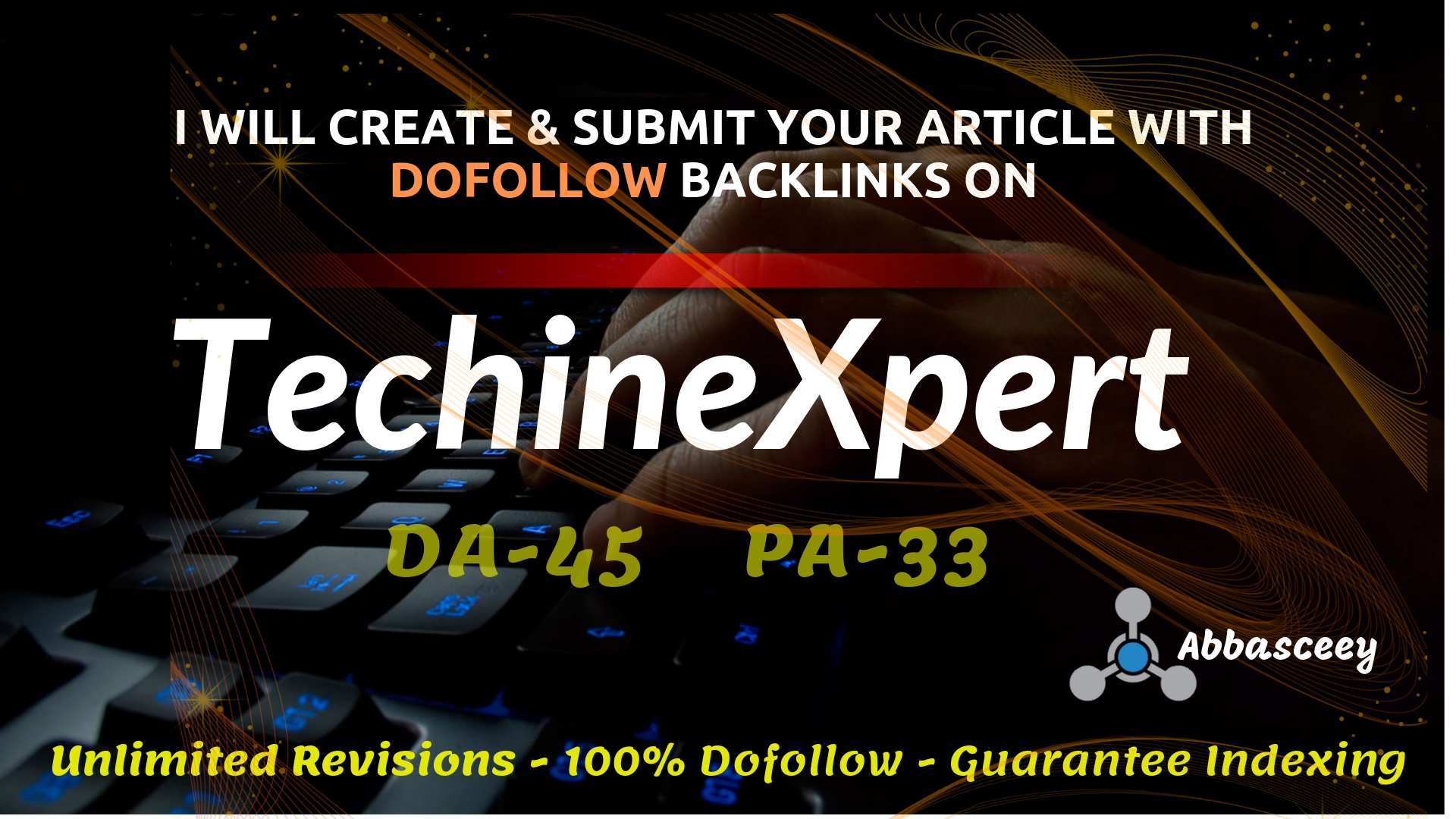 Submit Dofollow Guest Post on Techinexpert Real Tech Site Having DA-45
