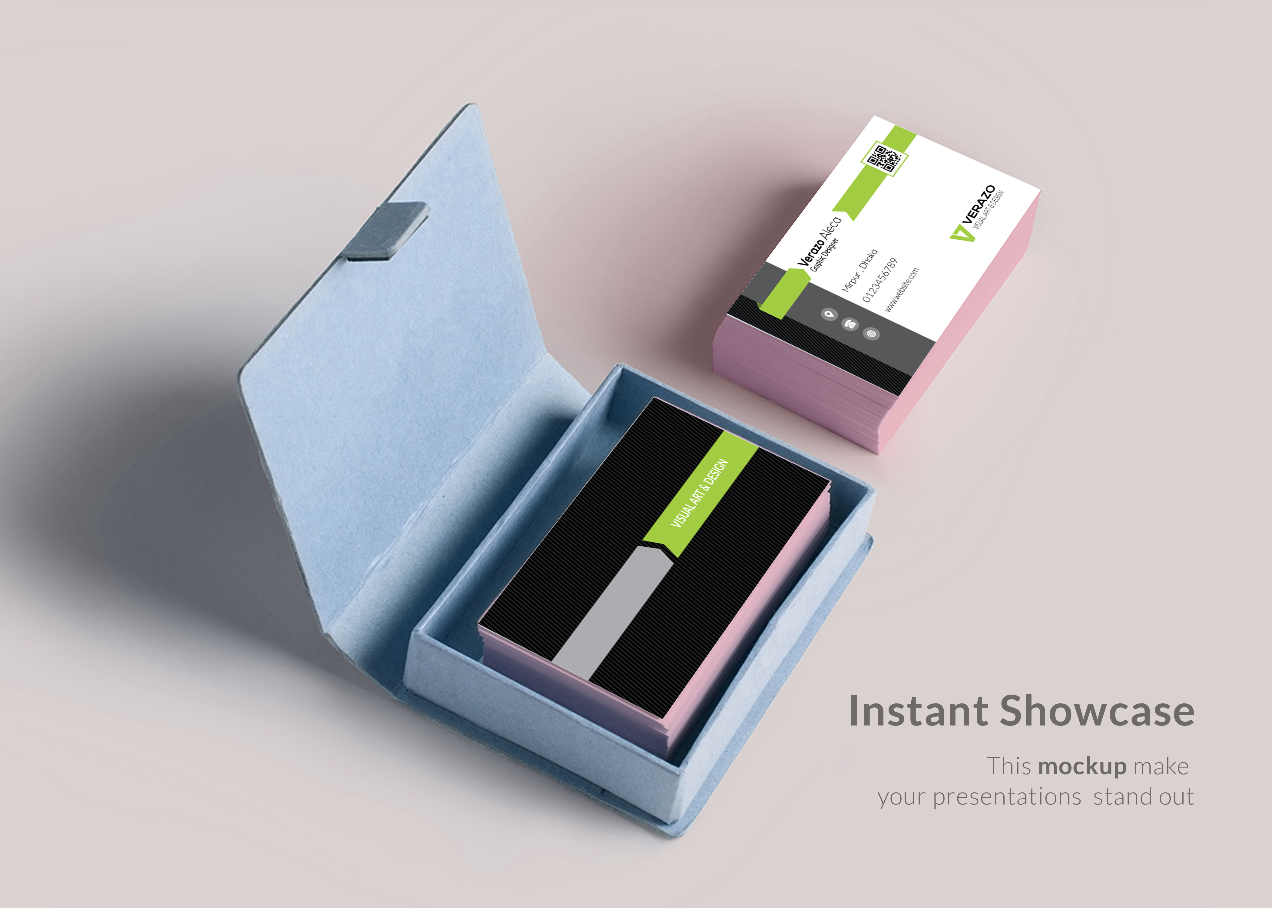 Design Amazing Professional Business Card Within 24h