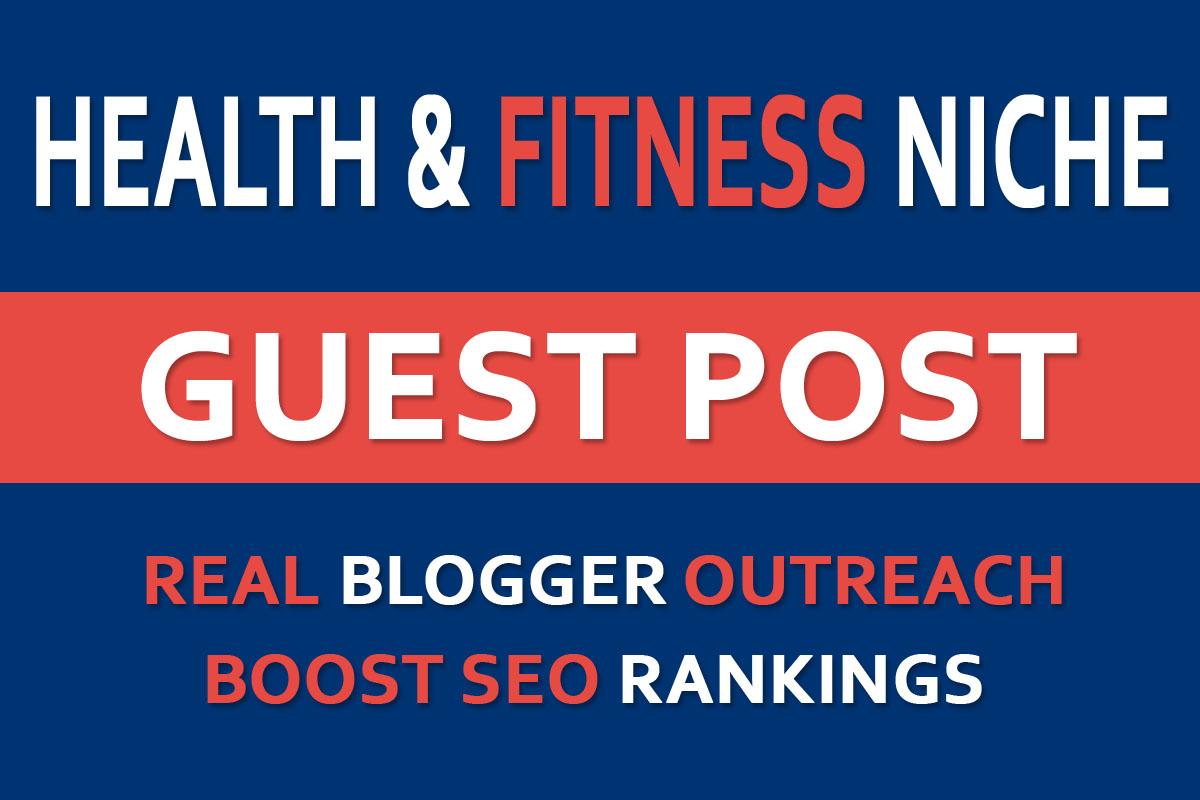 Guest Post on DA15+ Health Fitness Niche Blog