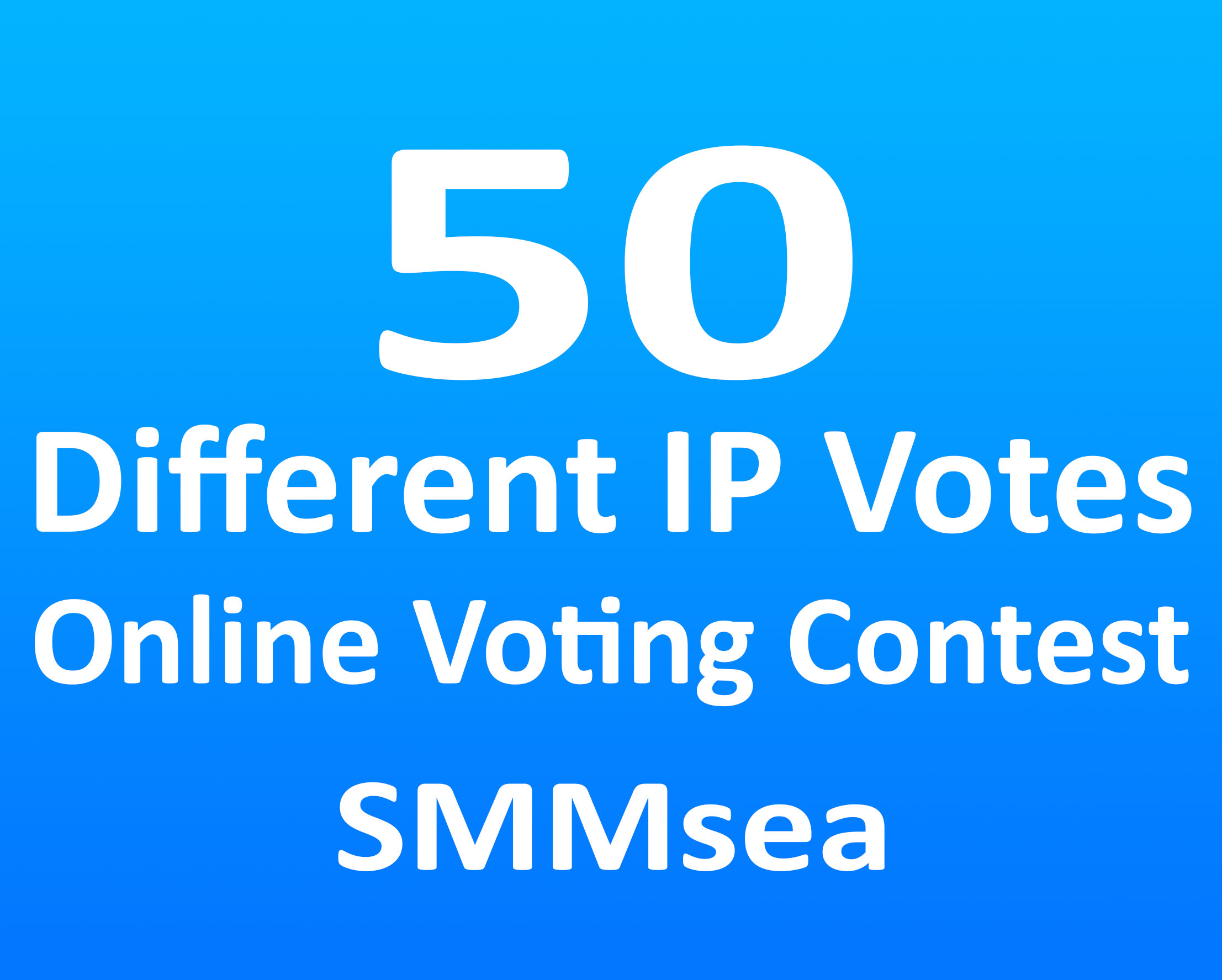 Give 50 Different IP Votes For Any Online Voting Contest