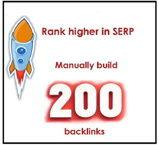 LinkBuilding of 200 Backlinks For Only 10 Dollars