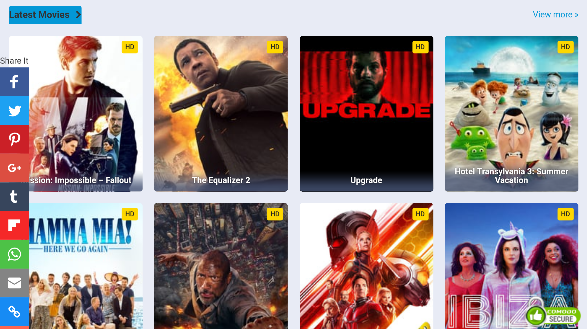 Create Movies And Tv Shows Website With 50000 Movies
