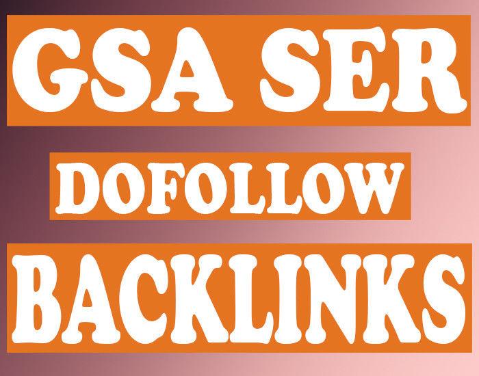 Seo Gsa BACKLINKS 4,00000 HIGH Authority For SEO Ranking