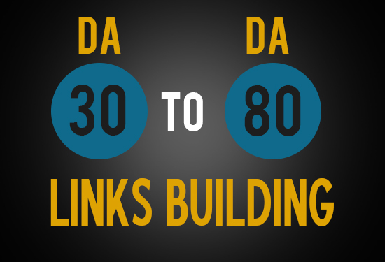 build 100 DoFollow Backlinks and 10 high PR backlinks with 30 - 80 DA & PA