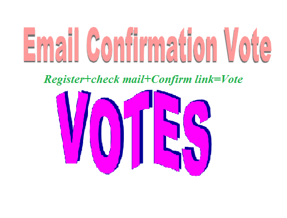 Provide 100+USA Signup or Registration Confirmation votes From differerent Us ips