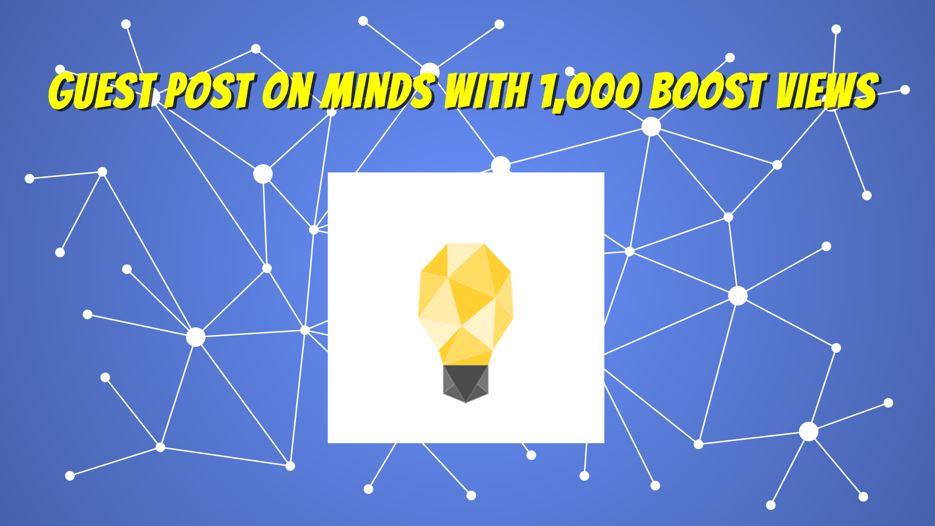 Publish and Write Guest Post on Minds DA87 With Boost Views for $15