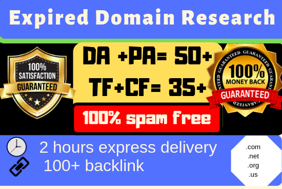 4 Best Expired Domain with high DA PA for PBN