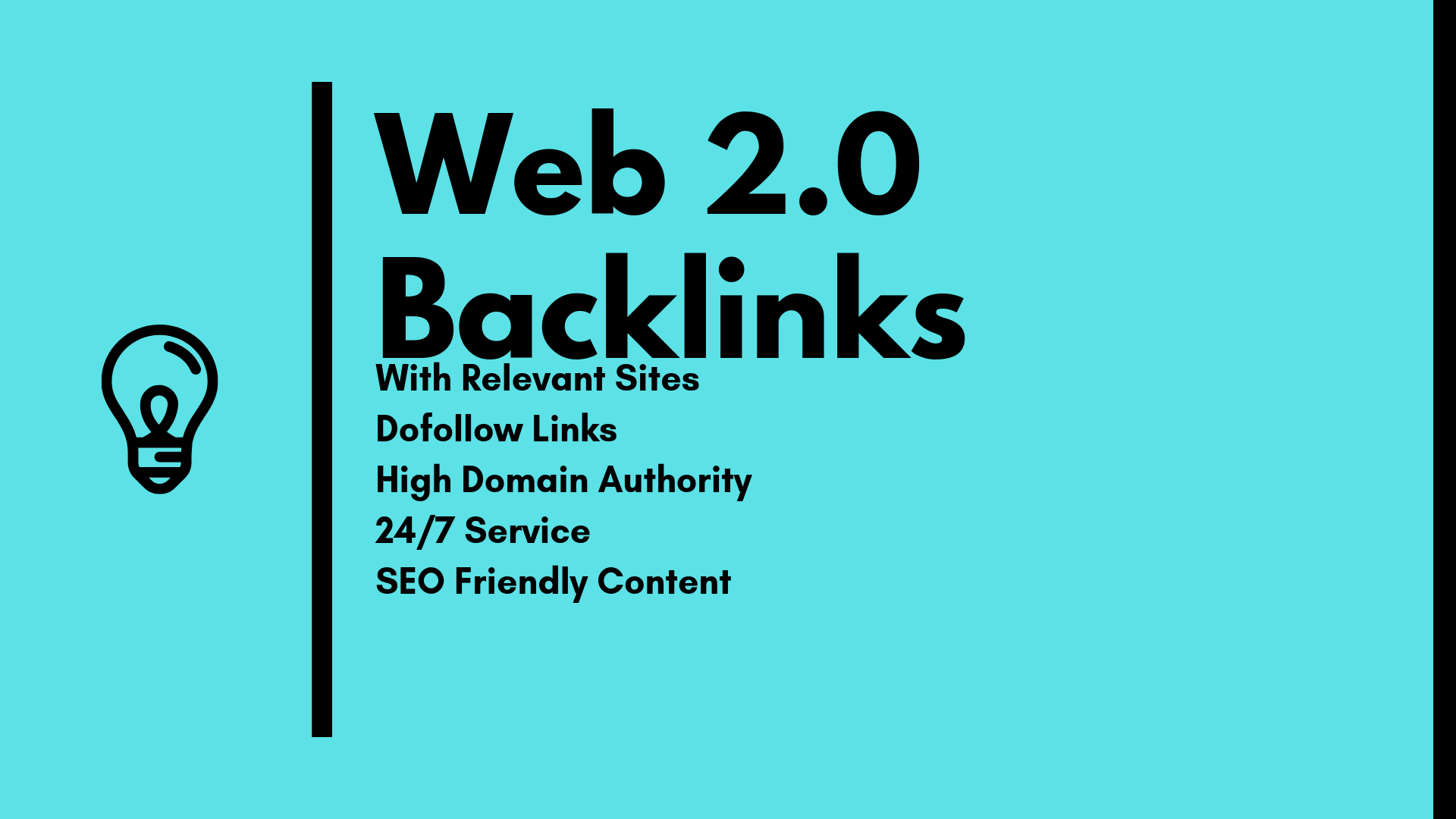 build 50 web 2.0 backlinks with DA 40+ sites in white hat method