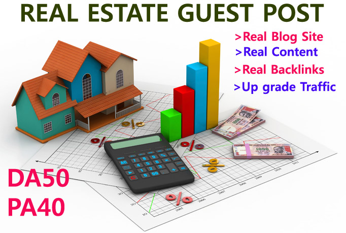Write and publish original guest post on 2xda50 real estate site