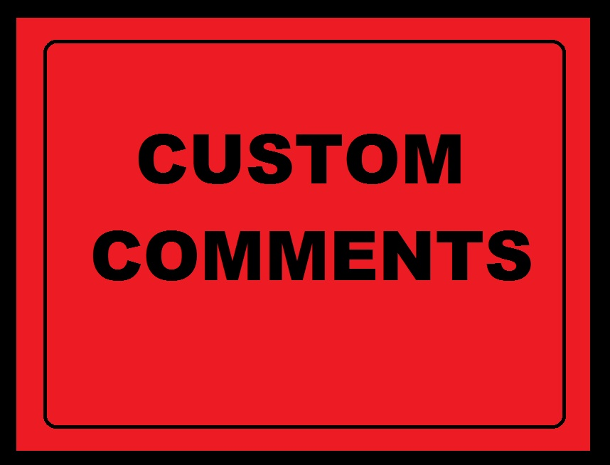 Best to best fast delivery 30 custom comment high quality