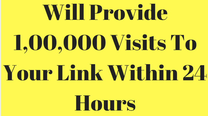 100,000 Visitors Traffic In 24 Hours