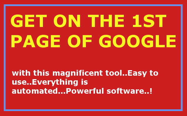 Sky rocket your website on Google by ease with this Powerful SEO Software