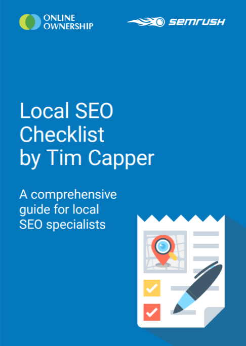 Local SEO A comprehensive guide for local SEO specialists EBOOK
