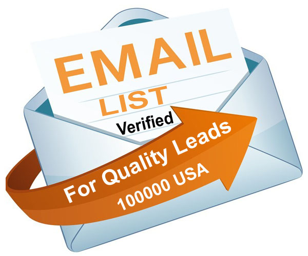 100K Verified USA Email To Skyrocket Your Business or Get Leads