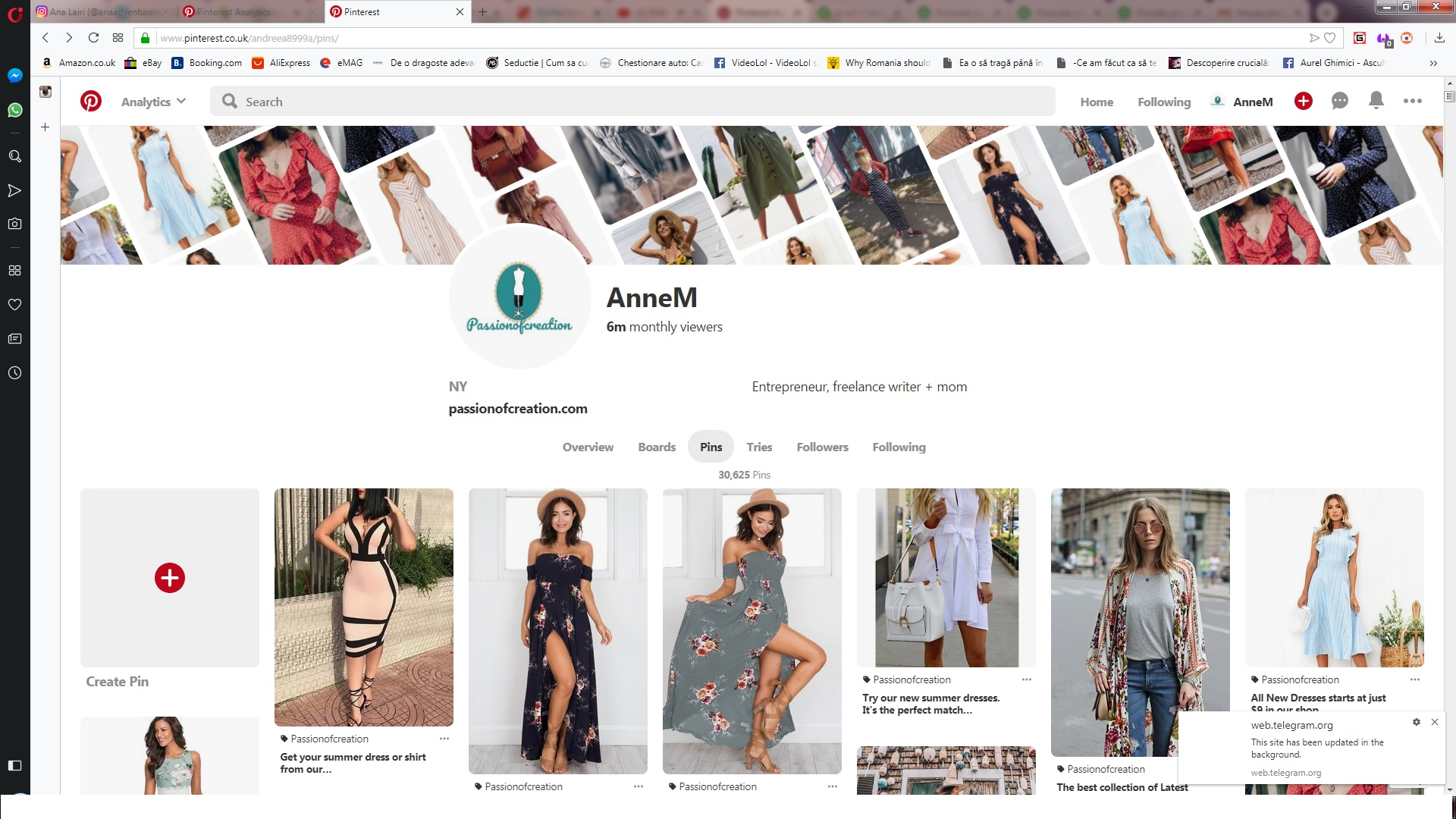 Promote your business to huge traffic pinterest boards