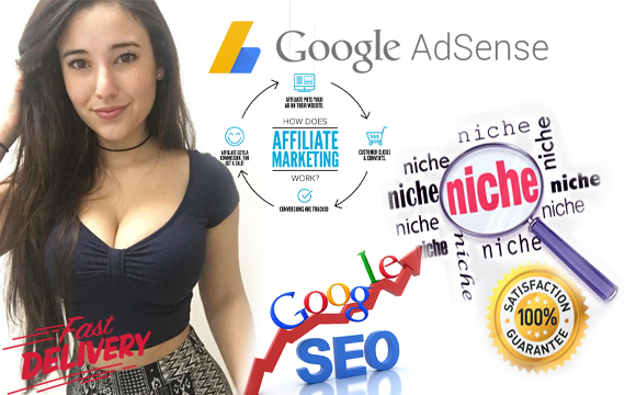 Create a Fully SEO Optimized Niche Website for Adsens...