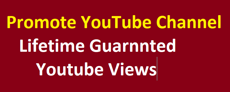Originally promote your video and all verifyed account