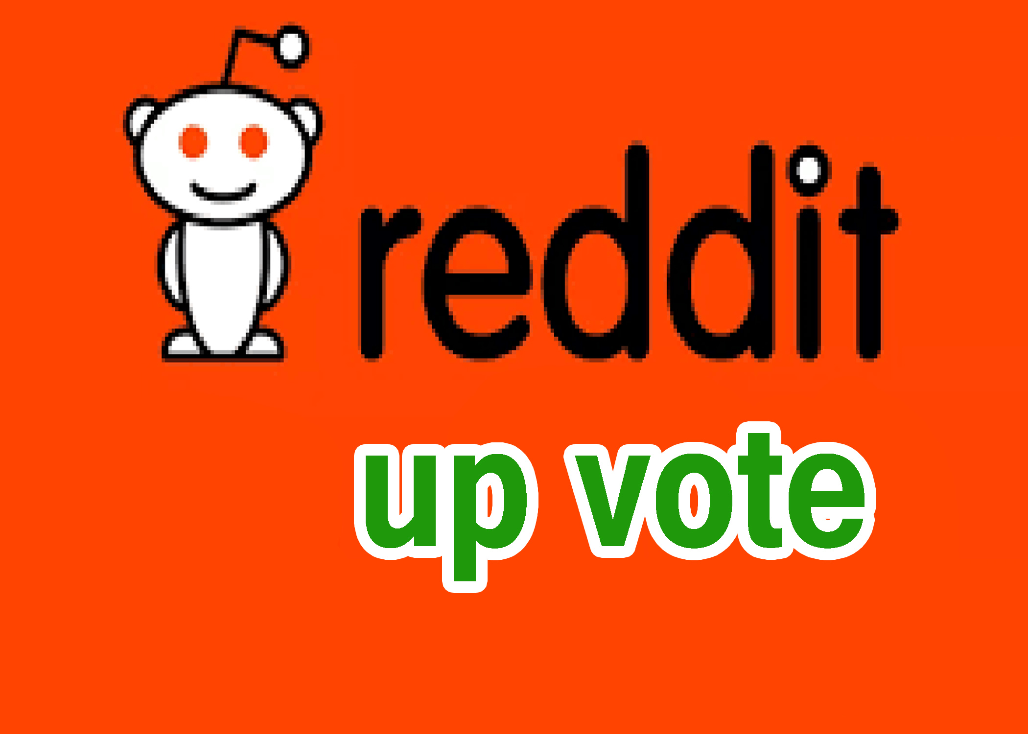 20+ reddit upvote in your link for