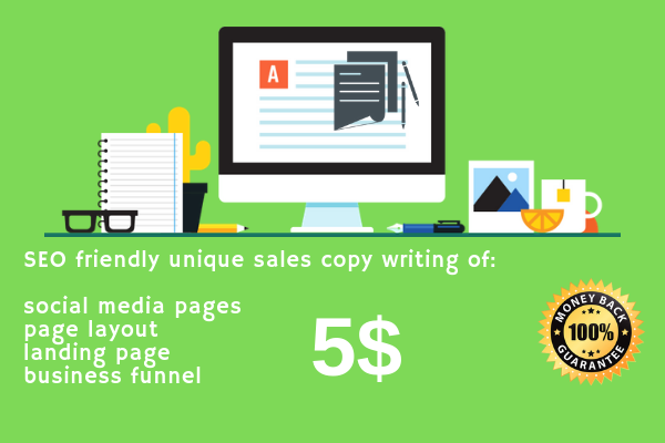 Write Sales Copy For Sky High Sales For 5 Seoclerks