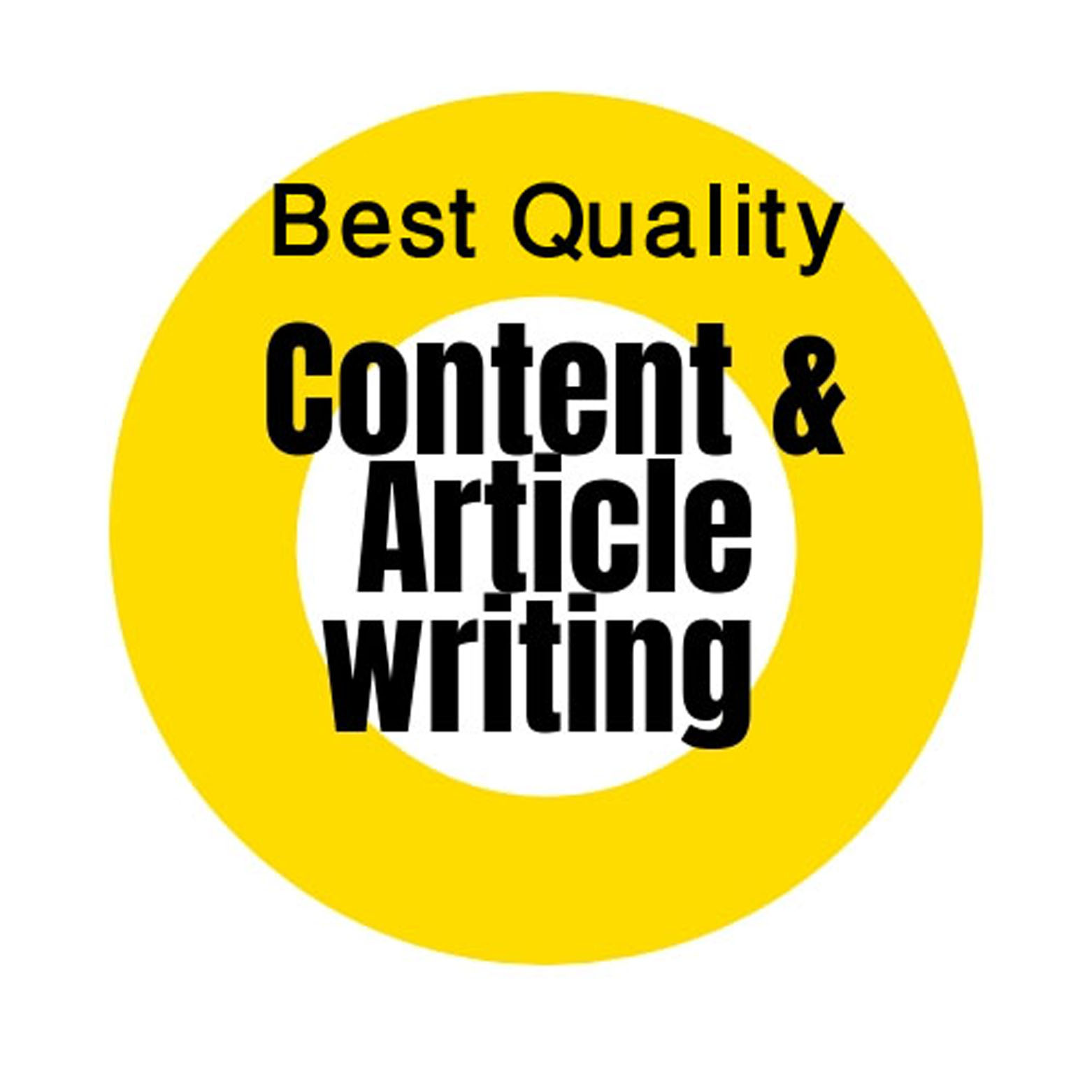Best quality SEO friendly article writing.