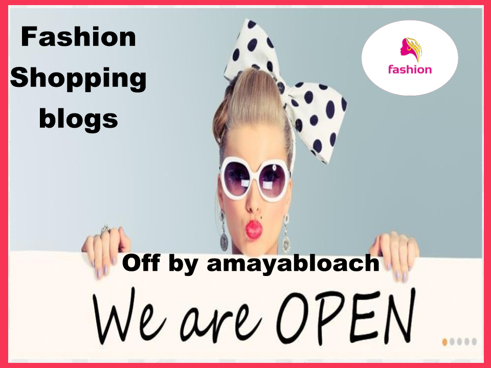 Guest post on Fashion and shopping related blog