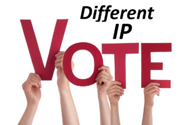 I will give you 200 genuine IP votes  on your any contest