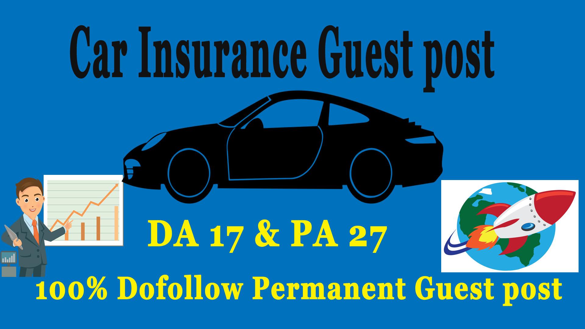 Car Insurance Guest Post DA 17 PA 27