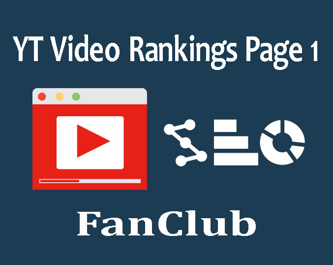 TOP YT Video Rankings Page 1 With Full Back Quality Back Package Package 2018