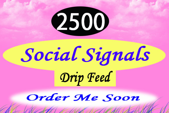Top Quality and BQ provide 250 real mix social signals