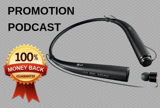 Provide Podcast Promotion Top Ranking