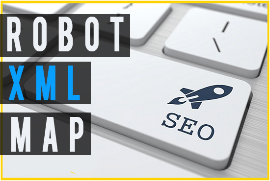 create or fix your website xml map and robot file to ...