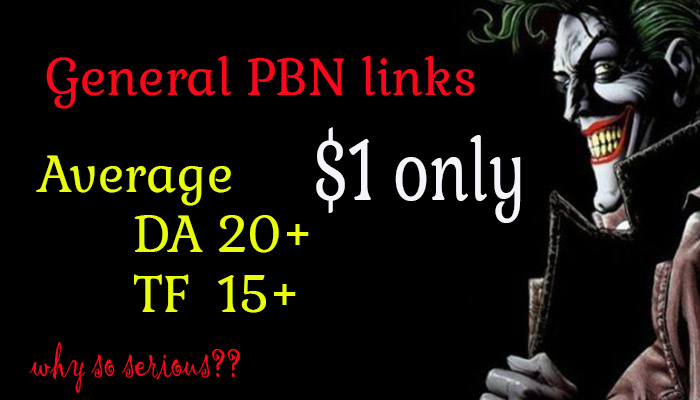PBN General Backlinks