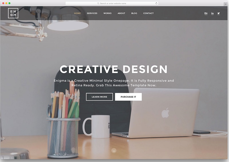 I want to create a responsive webdesign with html/css only for you