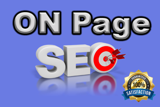 On page SEO for your website in google ranking 1st page