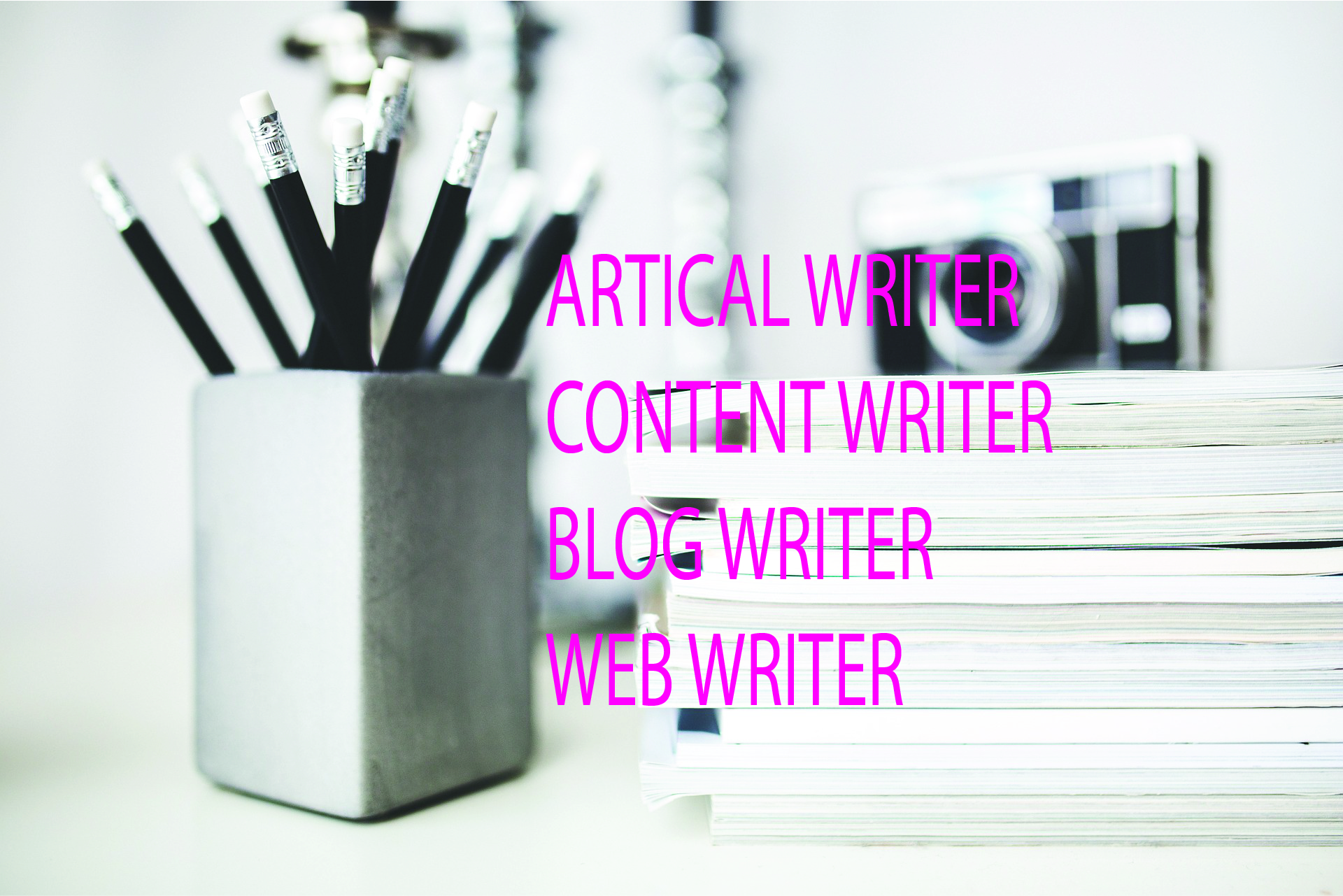 BE YOUR ARTICLE,BLOG,CONTENT WRITER
