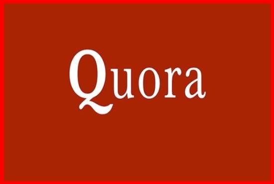 Guaranteed Quality 15 Quora Answers