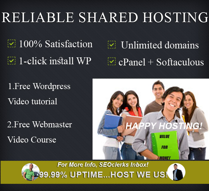 Reliable in the United States cPanel or Reseller Shared Hosting from