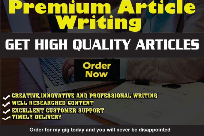 Do Content Writing,  Article Writing And SEO Blog Writing